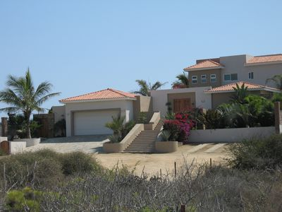 Photo for Villa Olas ~ an Elegant Beach-front Escape ~ 100' from Surf