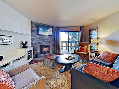 Photo for Beautifully Renovated Condo w/ Hot Tub - Near Bus to Ski Resorts & Hiking!
