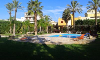 Photo for Salento - Nardò - Italy Comfortable villa with pool and sea excursion