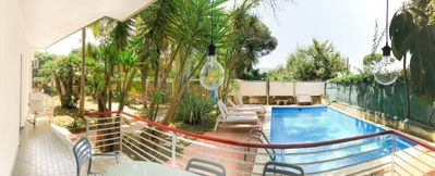 Photo for 3 bedroom Villa, sleeps 8 in Alberi with Pool, Air Con and WiFi
