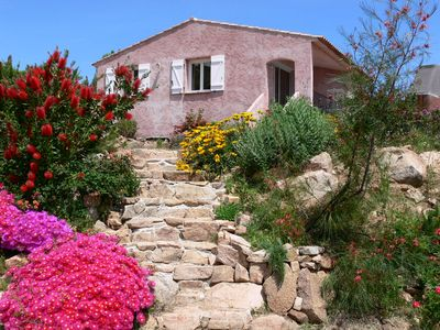 Photo for Holiday villa with stunning sea views. The beach nearby.