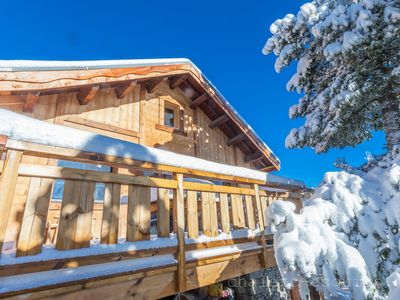 Photo for Wonderful chalet panoramic view near the slopes