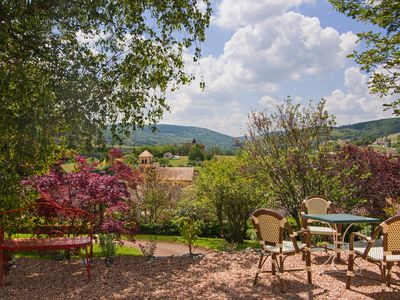 Photo for VILLA LUCIE, Bourgogne Sud, 5 *****, Charm, Standing, Private heated pool, SPA