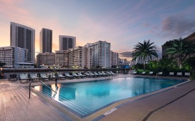 Photo for Lovely Suite | Outdoor Pool + Walk to Hollywood Beach