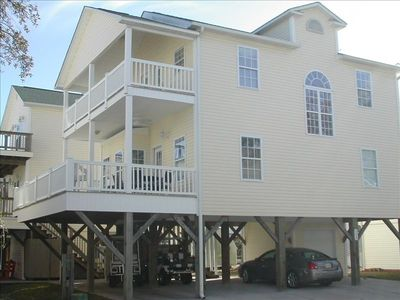 Photo for 309,Clean Beautiful 6BR, 3 bath, Slps14,Ocean & Lake View, W/Cart, and WiFi