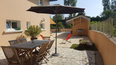 Photo for New apartment in the DRC with swimming pool and beaches on foot