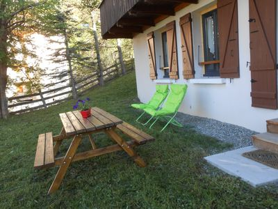 Photo for Chalet with garden, mountain views