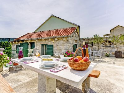 Photo for Holiday home Ganče * quiet location, large terrace with BBQ, free WiFi