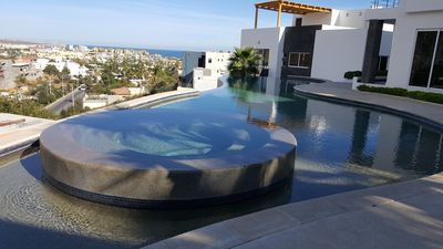 Photo for New! 2BR 2.5BA Top Floor Duplex with Private Rooftop on Pedregal Mountain!