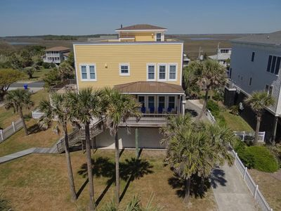Photo for Panoramic Ocean Views, Private Beach Access & Event Home