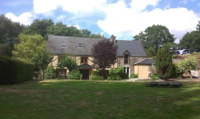 Photo for Le Vieux Moulin main house with pool and spa sleeps 10