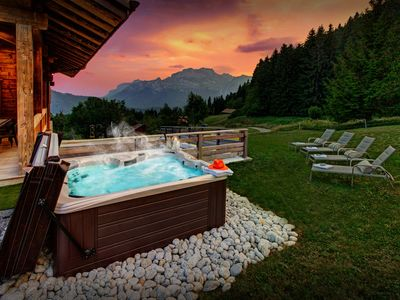 Photo for 5* Enjoy views from hot tub, or just relax in the steam room - OVO Network