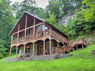 Photo for 'Wine Cellar' 3BR Red River Gorge Cabin w/ Views!