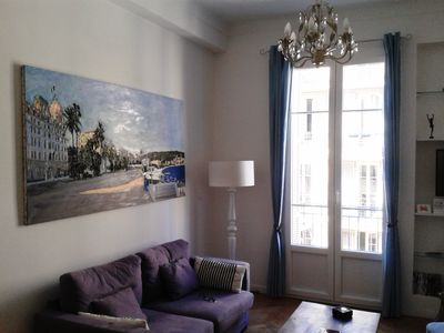 Photo for NEW! Beautiful 2 bed Apartment Central Nice nr Old Town, Port & Place Garibaldi