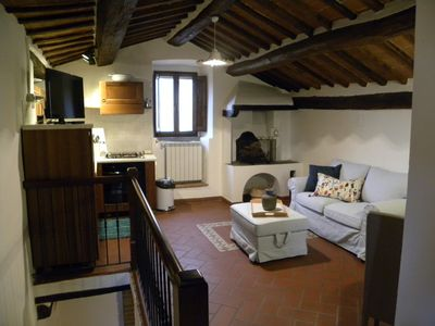 Photo for Rustic, cozy and quaint 1 bedroom apartment in the Heart of Cortona