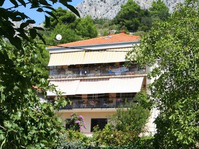 Photo for Studio appartment in Omiš (Omiš) capacity 2+1