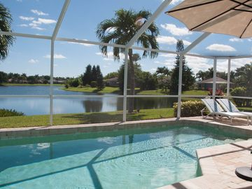 NEW Sept 2014! Stunning wide lakeview, attractively furnished, heated pool
