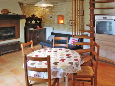 Photo for Vacation home Moulin du Bouscot (CYB200) in St Cybranet - 4 persons, 2 bedrooms