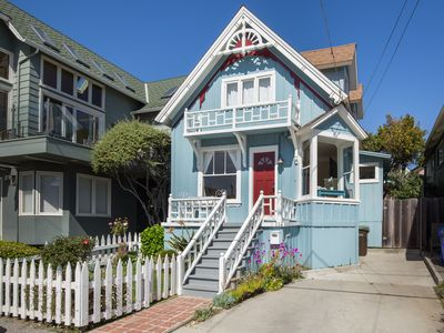 Photo for Oceanviews of Seabright Beach from this classic California beach house!