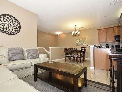 Photo for WELL-APPOINTED 2-BED TOWNHOUSE w/Resort Pool, Club House, Fitness Center, Just 1.5 Miles from Disney