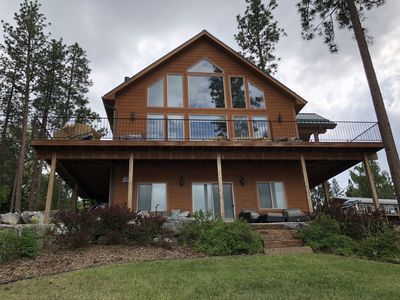 Photo for Prime Lakefront Home with Beautiful Views, Dock Fire pit. 3-5 Night Minimum Stay