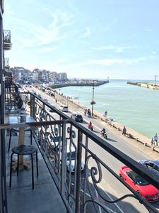 Photo for Apartment with terrace for 4 with a magnificent view on the port of Tréport