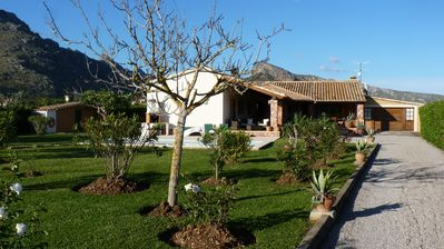 Photo for Beautiful Villa Set In A Large Garden With Uninterrupted Views Of The Mountains