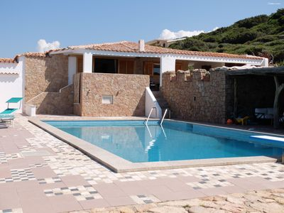 Photo for Villa Lu Culumbu: private pool and beach on foot
