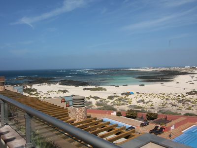 Photo for Marfolin 30. Spacious apartment on the beach with two swimming pools