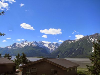 Photo for Island View studio apartment, beach access, stunning water & mountain view