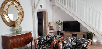 Photo for Charming apartment, quiet and in the heart of Dijon, Hotel Private Patarin