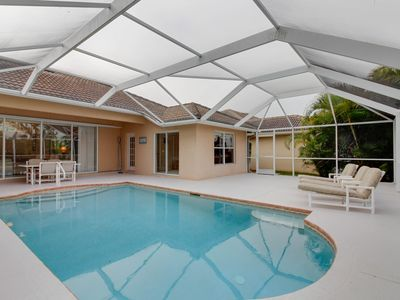 Photo for Spacious home  w/ private pool close to shopping, beaches, and more!
