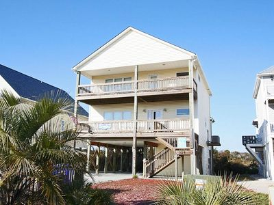 Photo for A Rising Tide: 3 Bed/3 Bath Open Floor Plan Home with Ocean Views and 3 Covered Porches