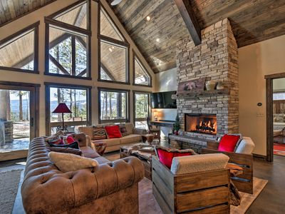 Photo for Custom Angel Fire Home on Private Hilltop w/ Views