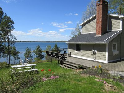 Photo for Family Friendly Cottage with Beautiful Westerly Views and Easy Ocean Access
