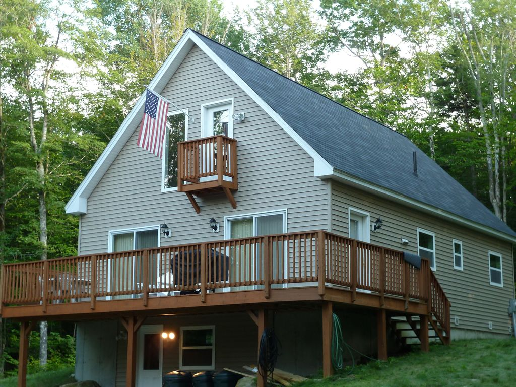 Lake Ski House Mi Private Beach HomeAway South Pond - And architectural cottages on secluded private pond homeaway
