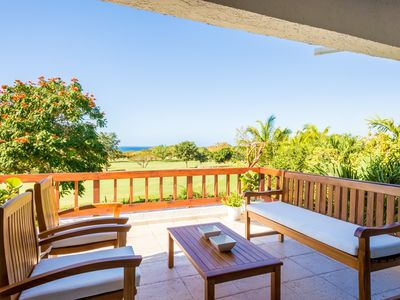 Photo for Golf Villa with Ocean Views, Close to Minitas Beach, Communal Swimming Pool, AC, Free Wifi