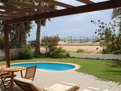 Photo for Beachfront Villa with sea view and private pool on Melia Tortuga Beach