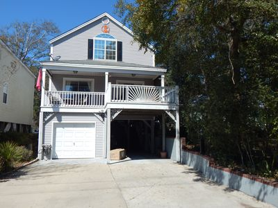 Dawg House II @ Sunny Surfside Beach, SC 3 Br 3 Bth, Locked garage, tons of room