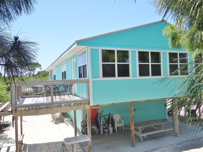 Photo for Spacious, Located on county beach path to beach, Great Rates, 2 kitchens/2 L.R.s