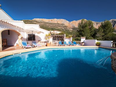 Photo for Los Arcos - A fabulous villa with fabulous views close to Javea and Denia