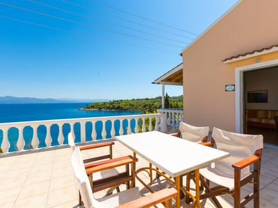Photo for Dolphin Villa 3: Swimming Pool, Walk to Beach, Sea Views, A/C, WiFi