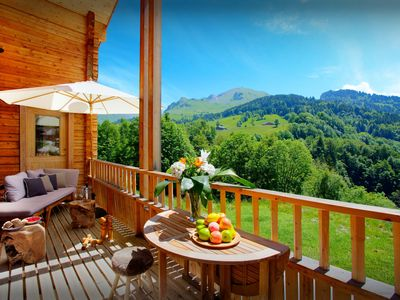 Photo for 4BR Chalet Vacation Rental in Le Grand Bornand, Haute Savoie