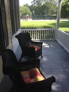 View of front porch.