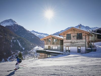 Photo for Apartment Dolomites-top location directly on the ski slope with a fantastic view