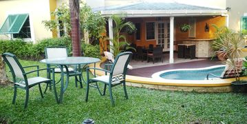 Private tropical west coast villa with plunge pool and 10 minutes to beach