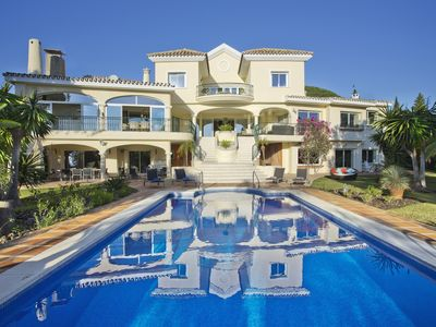Photo for Luxury Sea View Villa with Private Pool, Garden, Cinema Room & Pool Bar