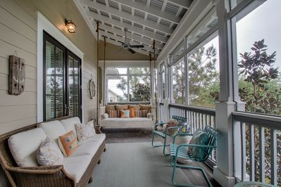 Second Floor: Screened Porch