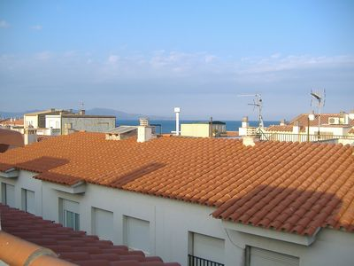 Photo for Bel Aprt of 2chbres in the historic center of L'Escala, 200m from the beaches