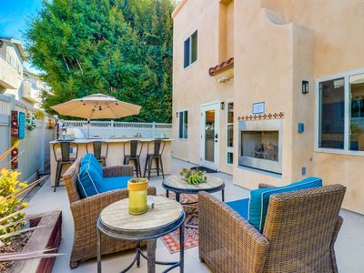 Photo for ROOFTOP PATIOS   OUTDOOR OASIS   AC   GARAGE PARKING   Family Friendly Beach Townhomes + 🐕